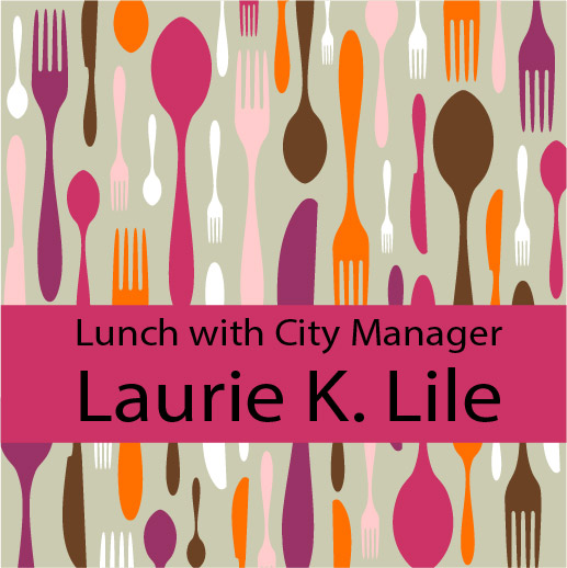 Lunch with Monrovia's City Manager